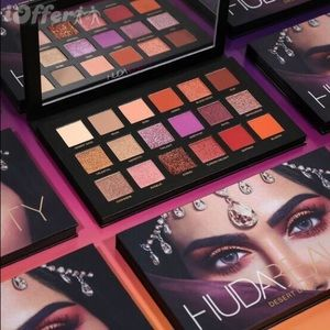 NIB 100% AUTHENTIC HUDA BEAUTY DESERT DUSK PALETTE